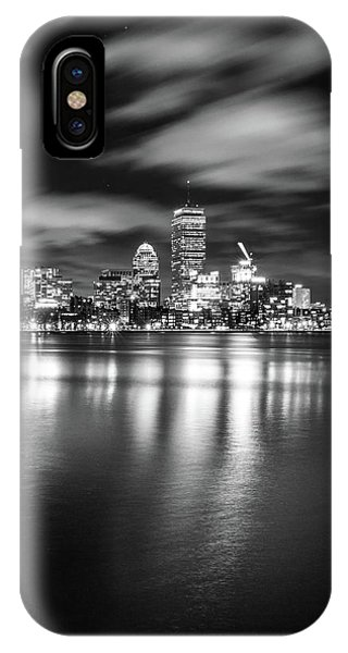 A Windy Night In Boston IPhone Case