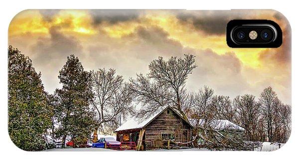 A Winter Sky IPhone Case