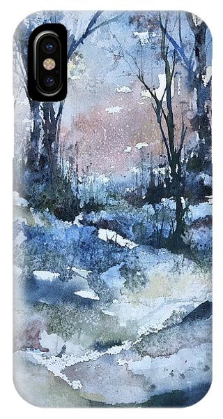 A Winter's Eve IPhone Case