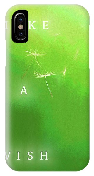 Simple iPhone Case - A Wish by Dan Sproul