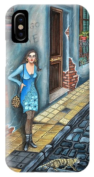 A Woman In Buenos Aires II IPhone Case
