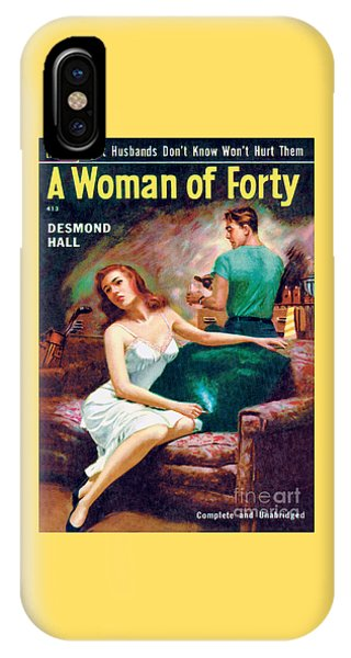A Woman Of Forty IPhone Case