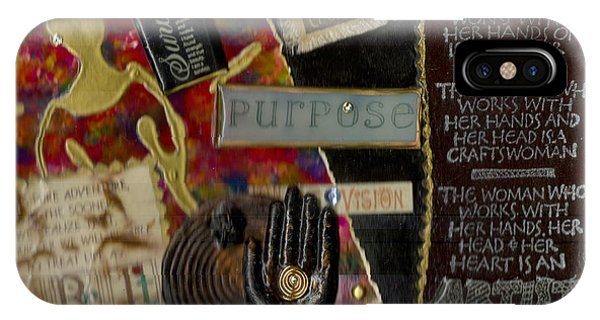 A Woman With Purpose IPhone Case