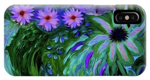Sherri iPhone Case - A Womans Touch With Her Flowers by Sherri's - Of Palm Springs