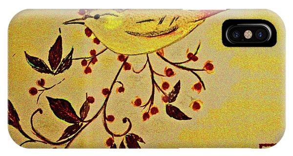 A Wren - In Pastel  IPhone Case