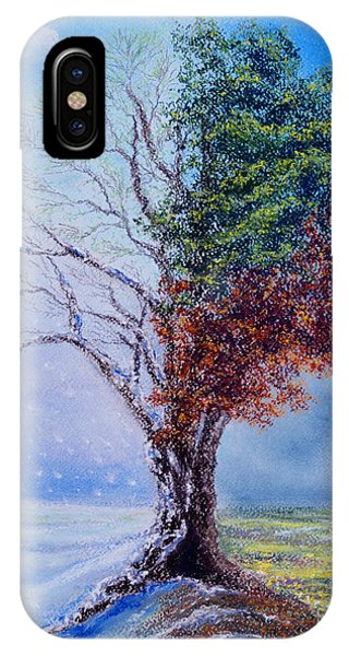 A Year In The Tree Of Life IPhone Case
