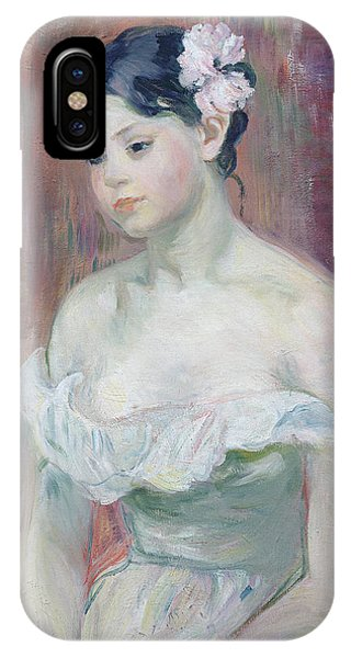 Youthful iPhone Case - A Young Girl by Berthe Morisot