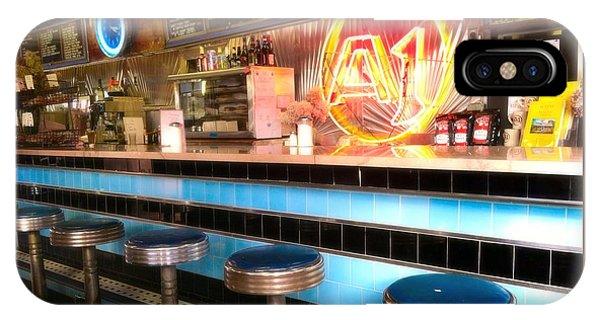 A1 Diner In Gardiner, Maine IPhone Case