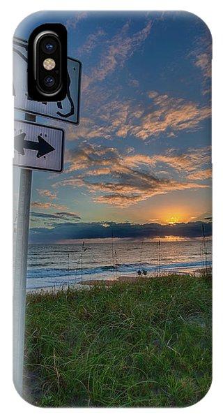 A1a Sunrise IPhone Case