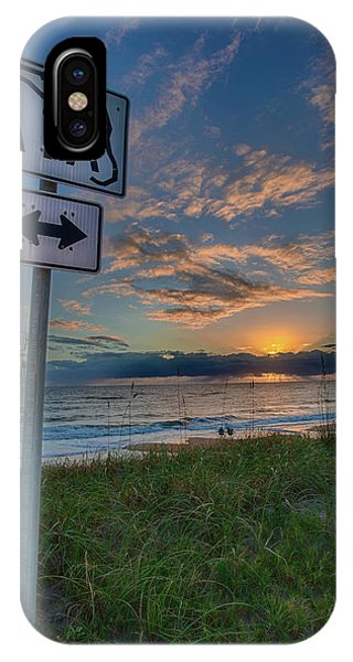 A1a Sunrise IPhone Case