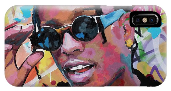 Harlem iPhone Case - A$ap Rocky by Richard Day
