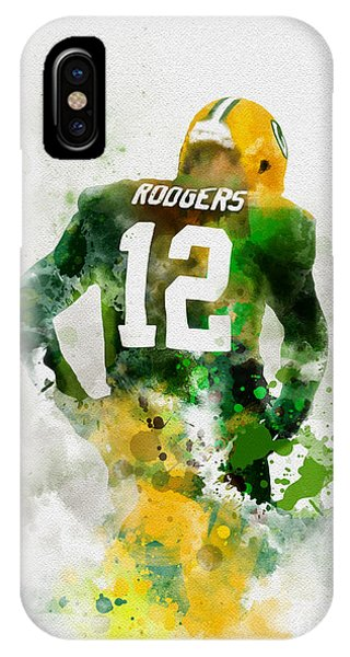 Nfl iPhone Case - Aaron Rodgers by My Inspiration