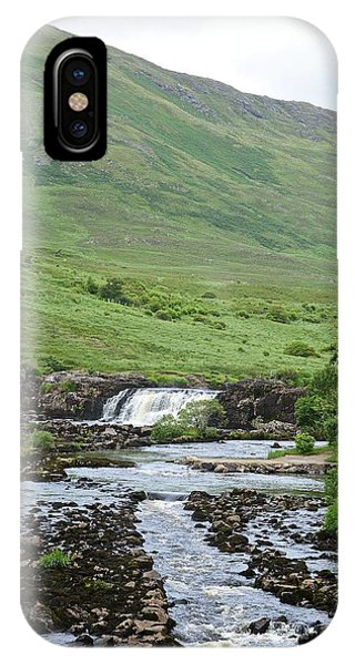 Aasleagh Falls IPhone Case