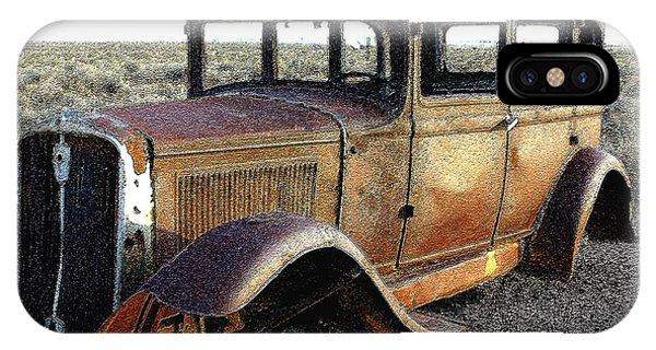 Abandonded Along Rt 66 IPhone Case