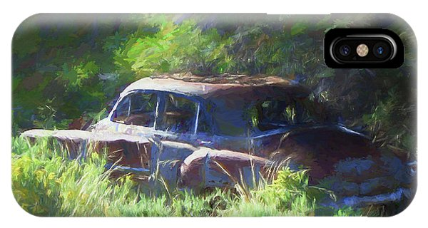 Abandoned 1950 Chevy Dop IPhone Case