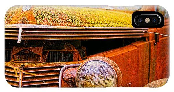 Abandoned Antique Truck 2 IPhone Case