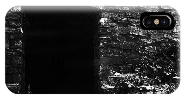 Timeworn iPhone Case - Abandoned Entry by Joseph Skompski