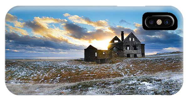 Abandoned Farm On The Snaefellsnes Peninsula IPhone Case