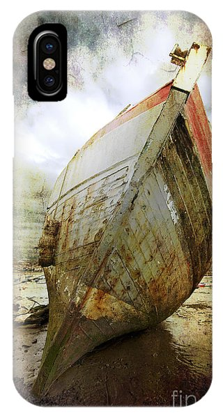 Abandoned Fishing Boat IPhone Case