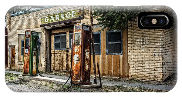 Abandoned Garage IPhone Case