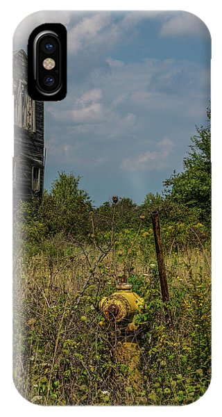 Abandoned Hydrant IPhone Case