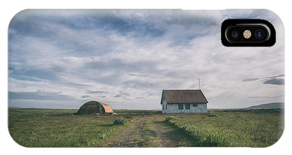 Silo iPhone Case - Abandoned Iceland  by Michael Ver Sprill
