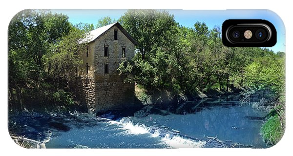 Abandoned Mill At Cedar Point IPhone Case