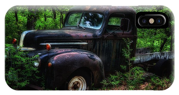 Abandoned - Old Ford Truck IPhone Case