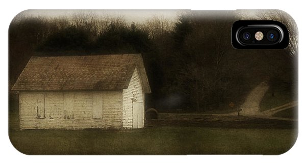 Abandoned School House IPhone Case