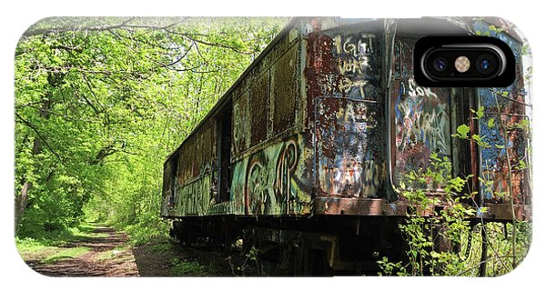 Abandoned Train Car IPhone Case