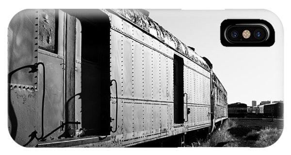 Abandoned Train Cars IPhone Case