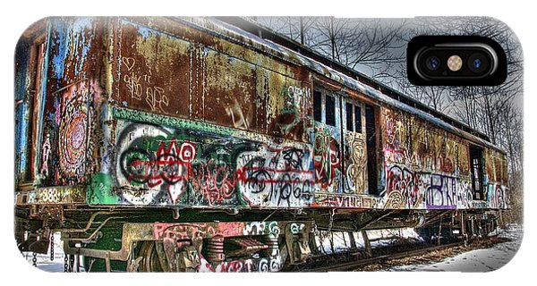 Abandoned Train IPhone Case