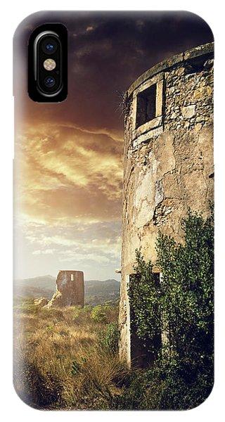 Abandoned Windmills IPhone Case