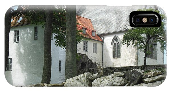 Abbey Exterior #2 IPhone Case