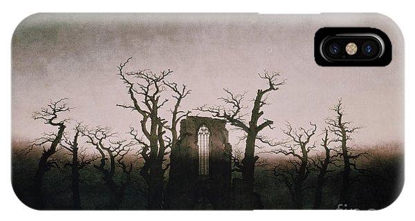 Abbey In The Oakwood IPhone Case