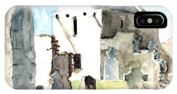 Abbey Watercolor IPhone Case