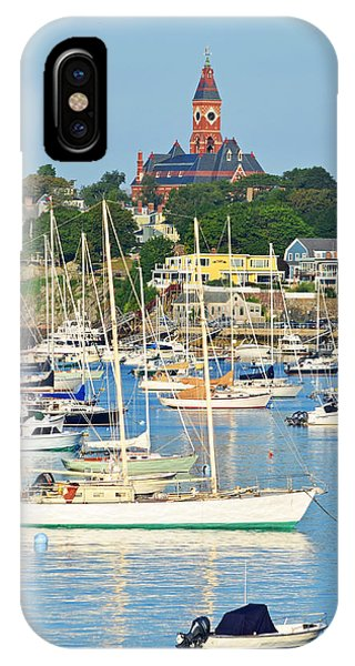 Abbot Hall Over Marblehead Harbor From Chandler Hovey Park IPhone Case