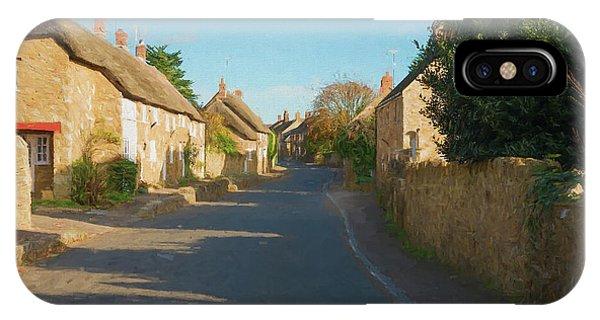 Dorset iPhone Case - Abbotsbury Village by Roy Pedersen
