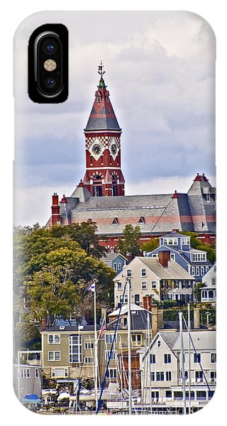 Abbott Hall From Water View IPhone Case