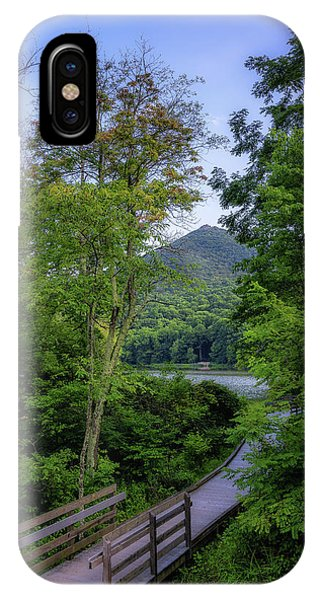 Abbott Lake Trail IPhone Case