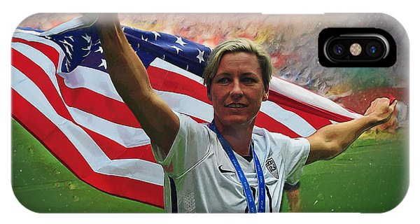 Abby Wambach Us Soccer IPhone Case