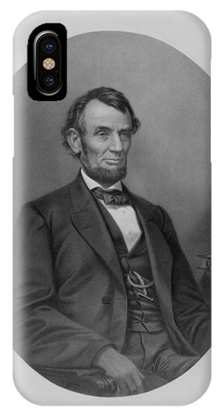 United States Presidents iPhone Case - Abraham Lincoln by War Is Hell Store