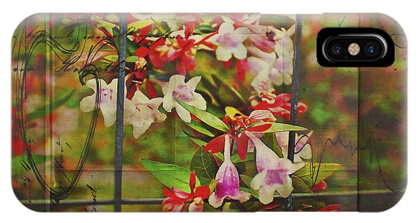 Abelia Coming Through IPhone Case