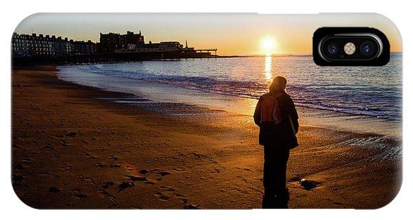 Aberystwyth Sunset IPhone Case