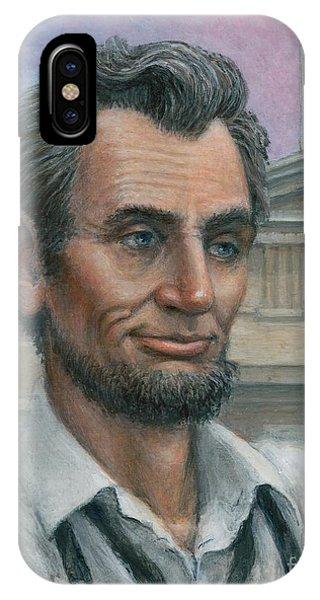 Abe's 1st Selfie - Detail IPhone Case