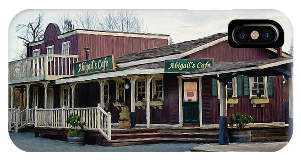 Abigail's Cafe - Hope Valley Art IPhone Case