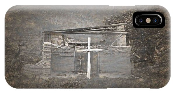 Abiquiu Nm Church Ruin IPhone Case