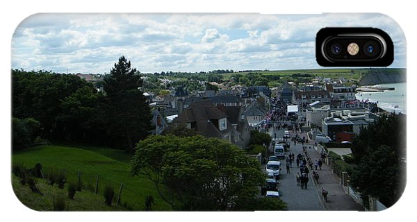 Above Arromanches-les-bains IPhone Case