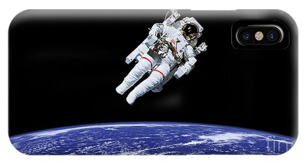 Earth Orbit iPhone Case - Above Earth by Delphimages Photo Creations