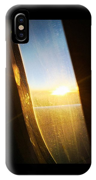 Dream iPhone Case - Above The Clouds 05 - Sun In The Window by Matthias Hauser